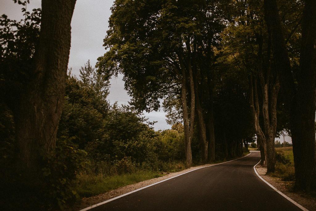 piękne drogi na mazurach asfalt mazurksie drogi nowe kawkowo