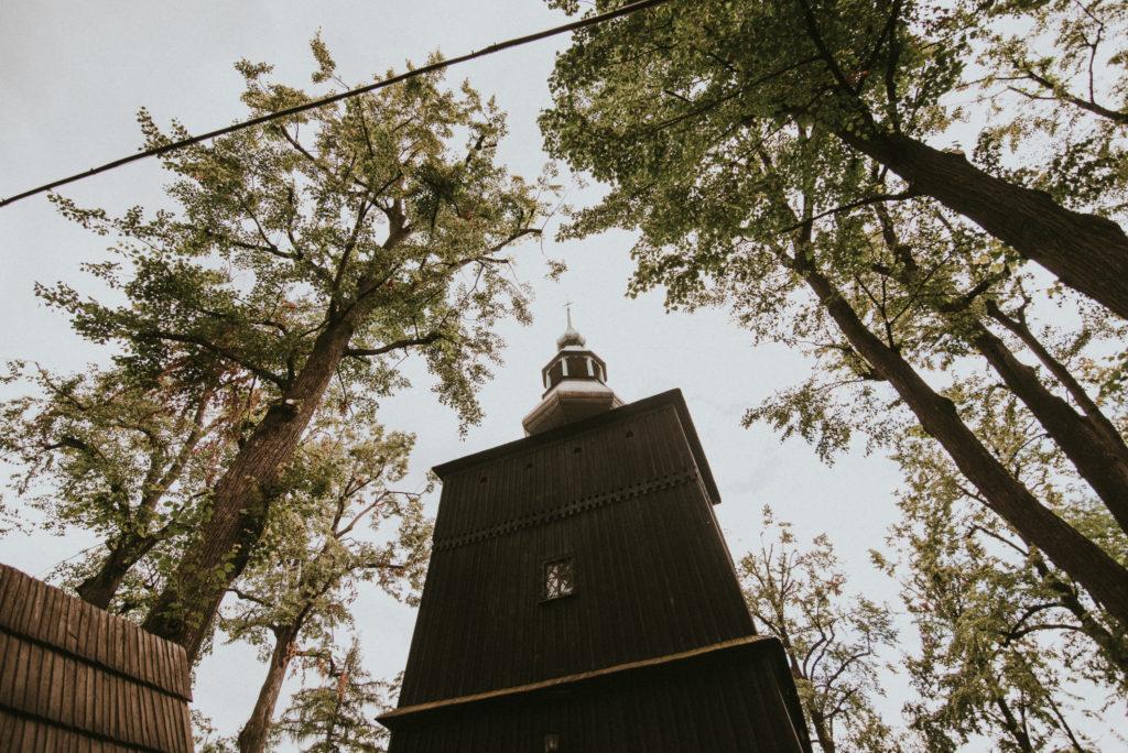 kościół św. Barbary w Mikuszowicach Bielsko Biała stary drewniany kościół na ślub pytlikbak