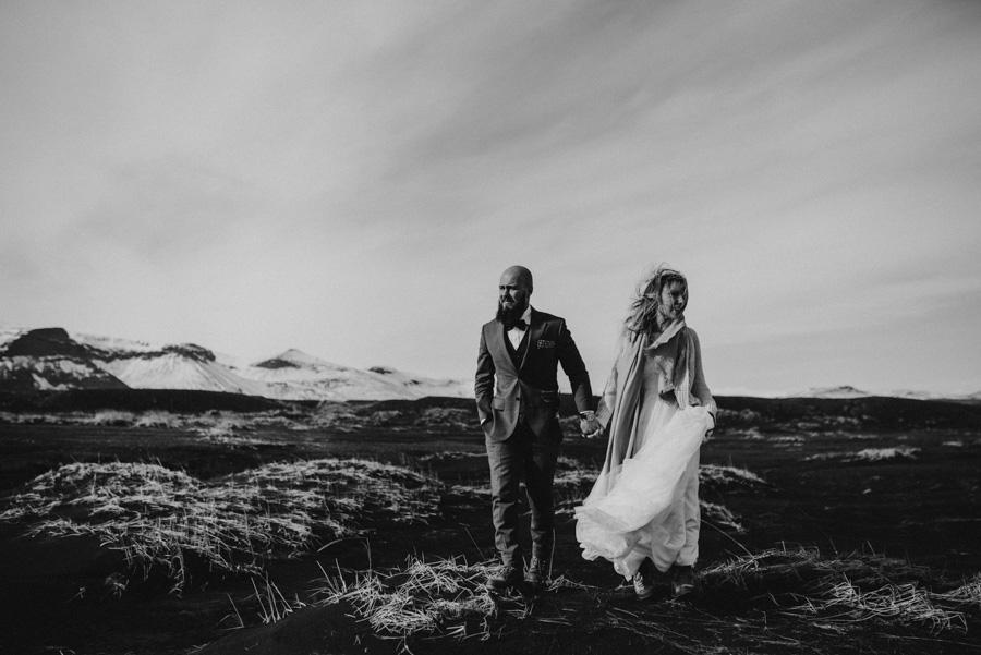 Sesja plenerowa islandia podróż poślubna skandynawia pytlikbak
