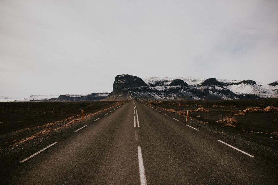 droga na Islandii iceland Road pytlikbak travel