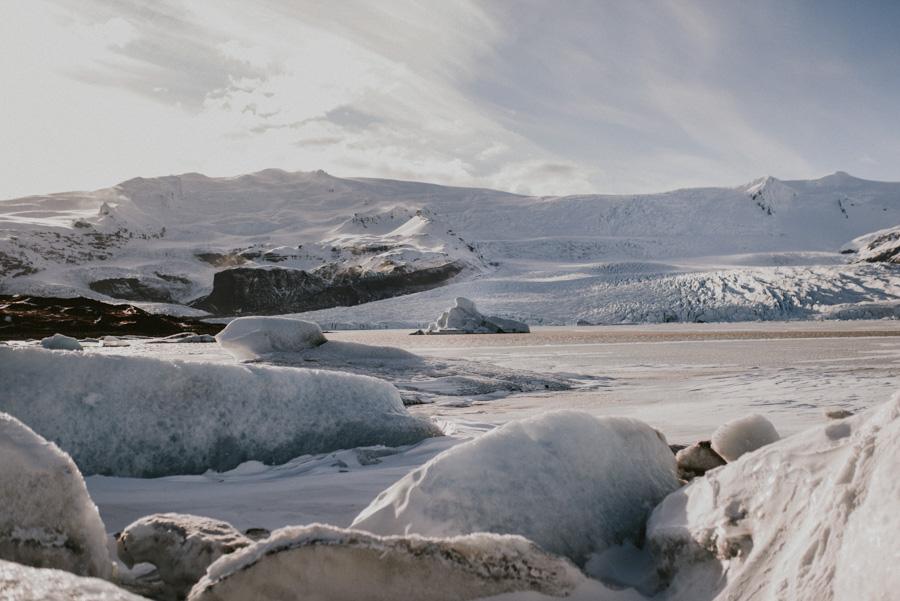 lodowiec Sesja plenerowa islandia podróż poślubna skandynawia pytlikbak