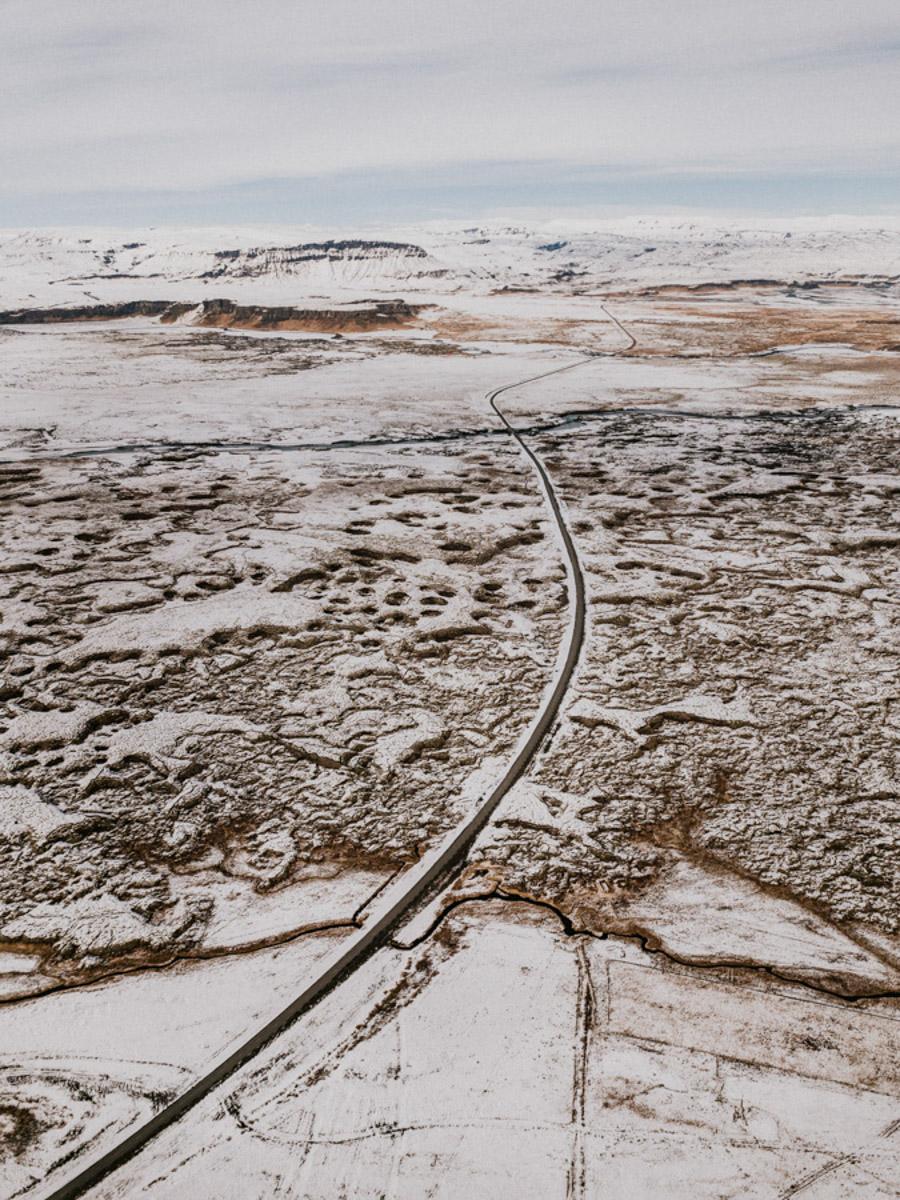 Islandia Iceland drone mavic travel podróż pytlikbak droga 1 jedynka