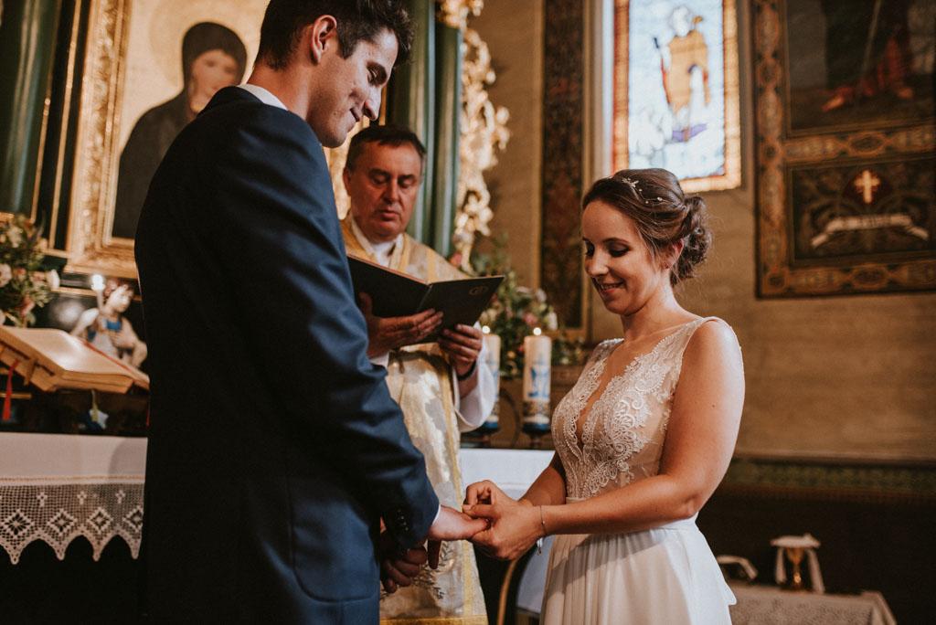 Ślub Dekoracja Kościół Rzymskokatolicki Pw. Wniebowzięcia NMP Wola Radziszowska pytlikbak Kraków Leńcze