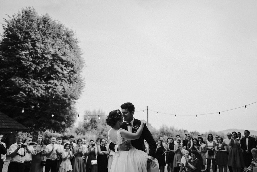 Ślub w Dolinie Cedronu pierwszy taniec Kraków Leńcze pytlikbak