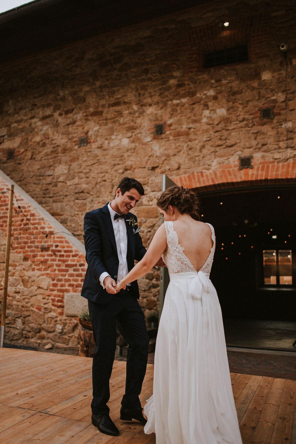 Ślub w Dolinie Cedronu pierwszy taniec w plenerze Kraków Leńcze pytlikbak