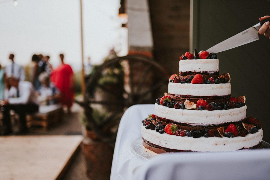 tort naked Ślub w Dolinie Cedronu Kraków Leńcze pytlikbak