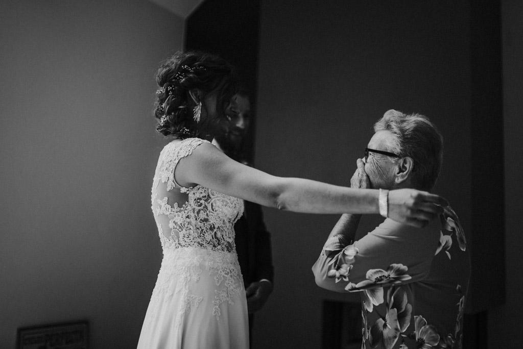 Życzenia pary młodej babcia