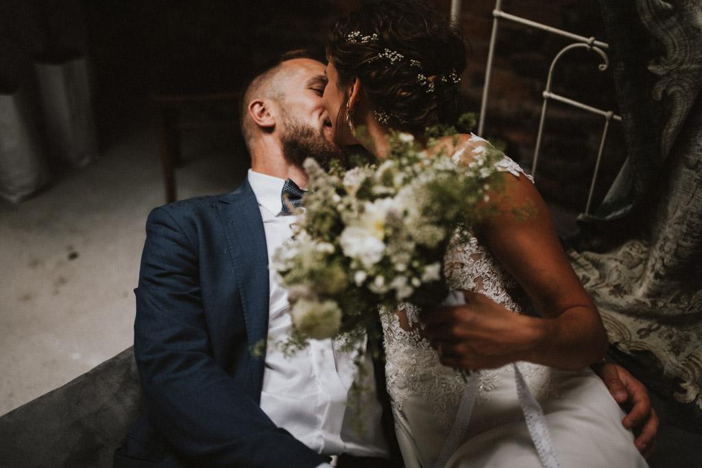sesja w dniu ślubu na poddaszu w kotulińskiego 6