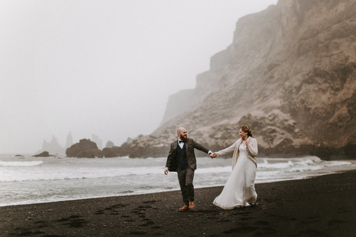Sesja ślubna na Islandii Islandia za granicą skandynawia Marta Bąk