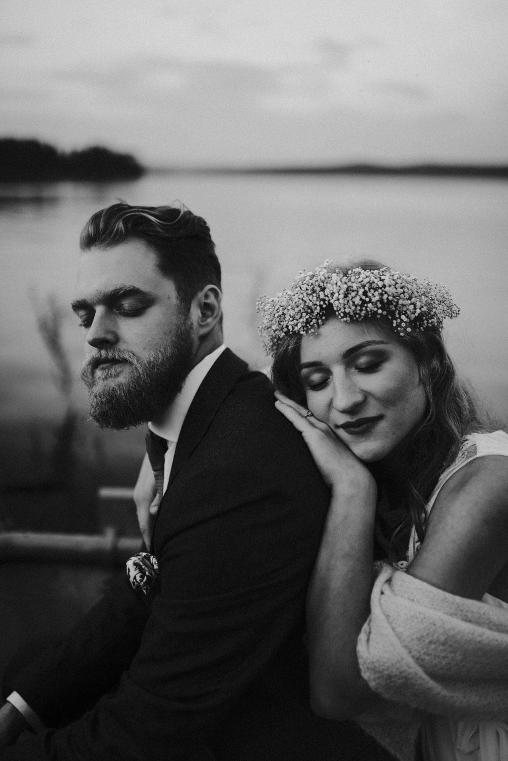 sesja rodzinna sesja ciążowa sesja poślubna plener na łódce jezioro pytlikbak portret ślubny