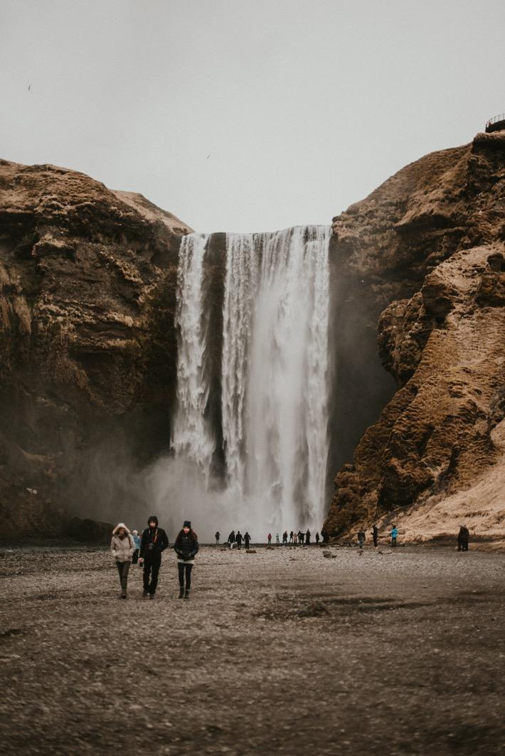 Pytlikbak islandia podróż sesja skogafoss