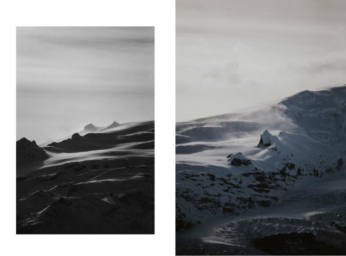 Iceland landscapes glaciers lodowiec