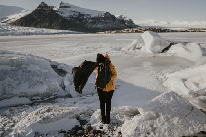 Fjallsárlón Iceberg pytlikbak