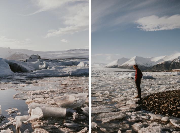 Jökulsárlón Glacier Lagoon april