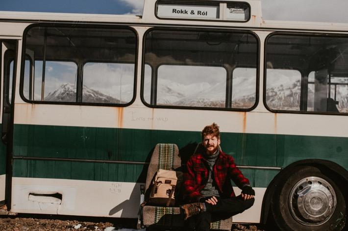 opuszczony autobus na islandii hofn into the wild