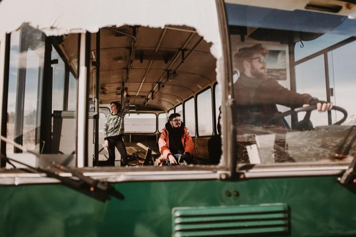 opuszczony autobus na islandii hofn into the wild Marta Bąk Aneta Wieczorek Karol Wardzichowski Adrian Pytlik