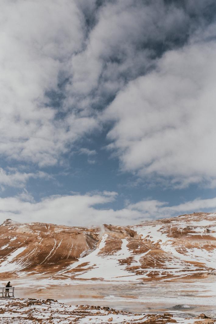 Namafjall Krafla pola geotermalne pytlikbak