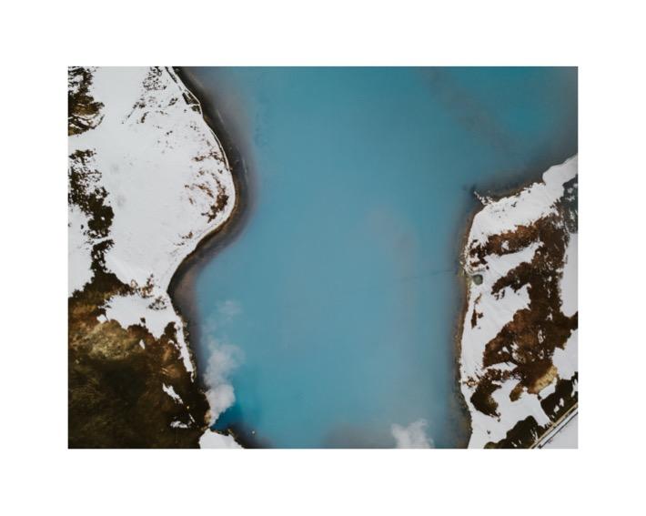 blue lake krafla pytlikbak drone mavic