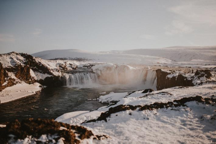 woospad godafoss islandia