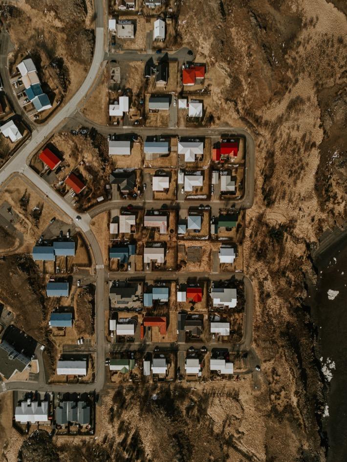 Snaefellsnes drone city