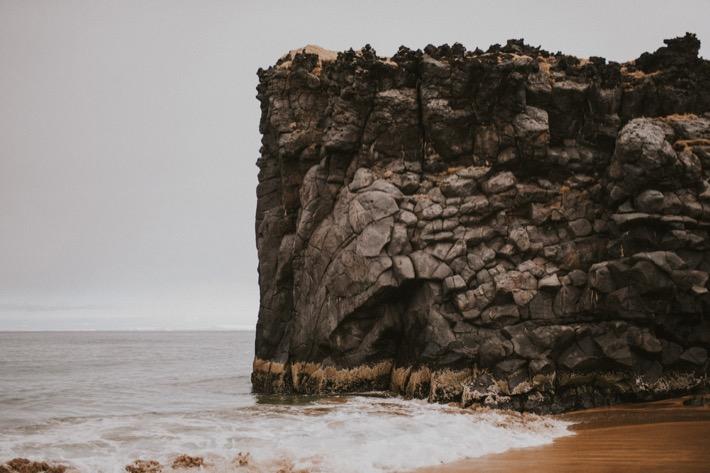Skarðsvík beach plaża