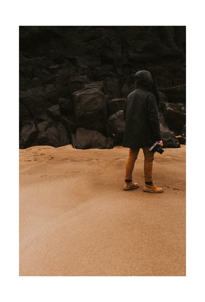 Skarðsvík beach plaża Adrian Pytlik Fotograf