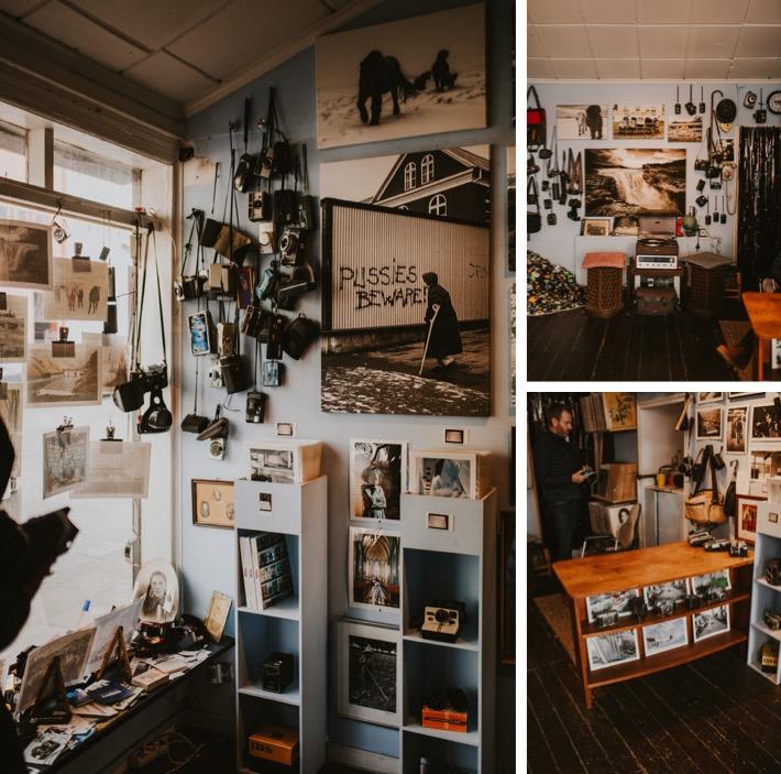 Reykjavik photography shop