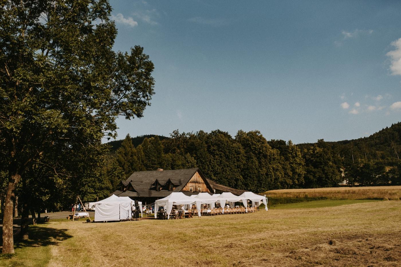 wesele pod namiotami w górach