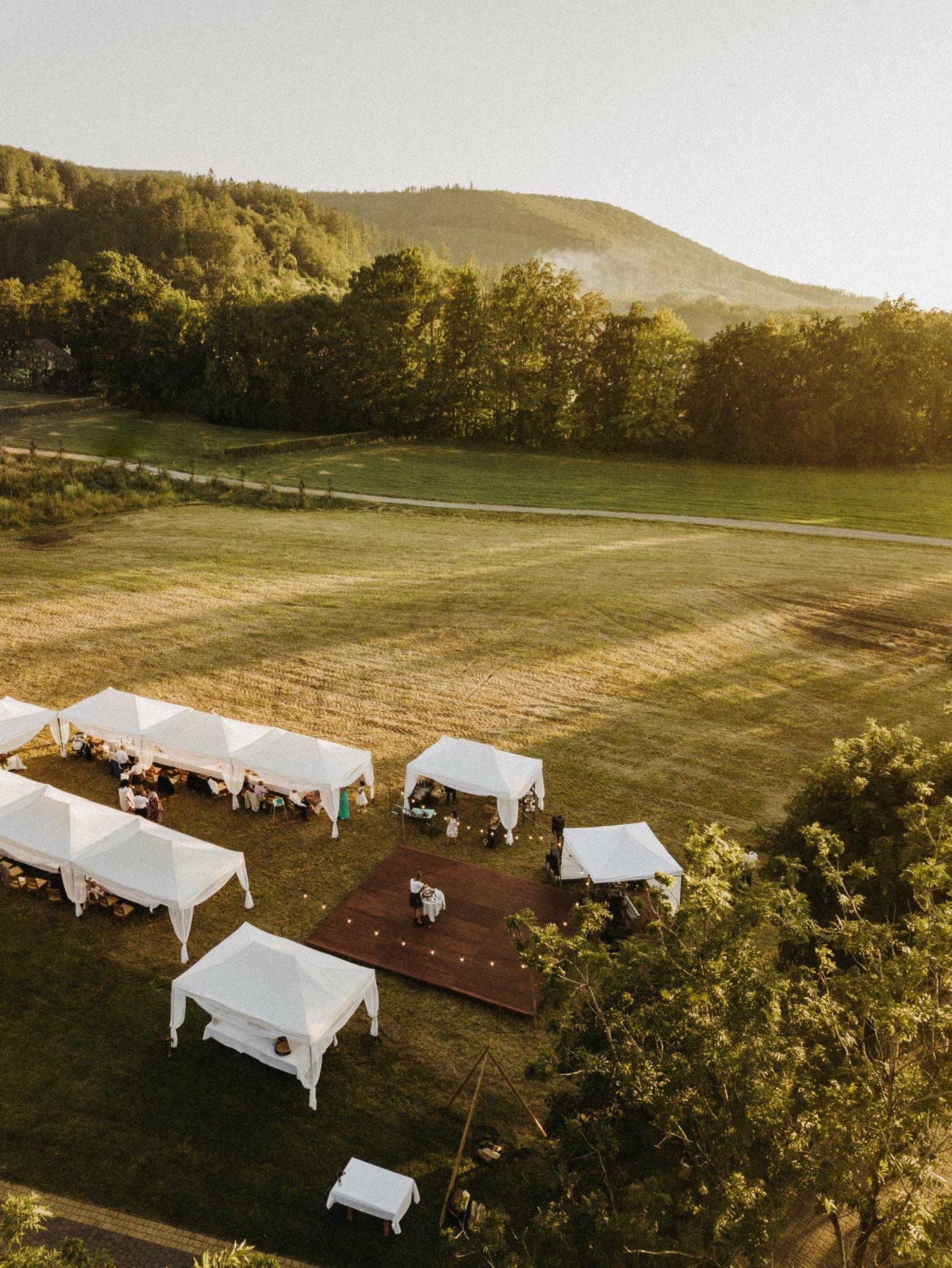 wesele pod namiotami w górach nałęże jaworze gościniec szumny
